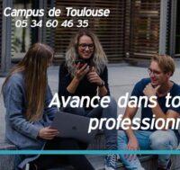 Avance dans ton projet dans notre campus de Toulouse!