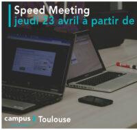 Soirée speed meeting le jeudi 23 avril à partir de 17h
