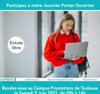05 juin: Journée Portes Ouvertes Campus de Toulouse