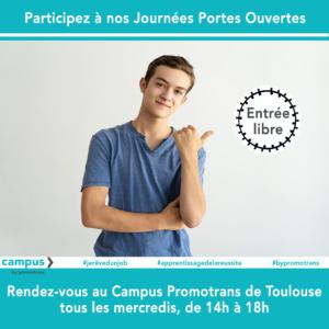 Journées Portes ouvertes au Campus de Toulouse